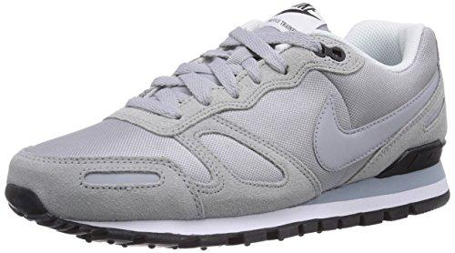 Nike Air Waffle Trainer 429628, Herren Sneaker, Grau (Wolf grey/wolf grey-blk-white 092), 47.5 EU
