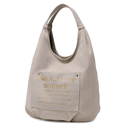 B-B Ladies Leisure Canvas Shopping Bag Large Handbag