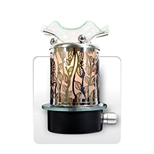 Metal Plug In Oil Warmer - Ivy
