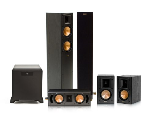 Klipsch Rf-42 Ii Reference Series 5.1 Home Theater System With Sw-450 Subwoofer (Black)