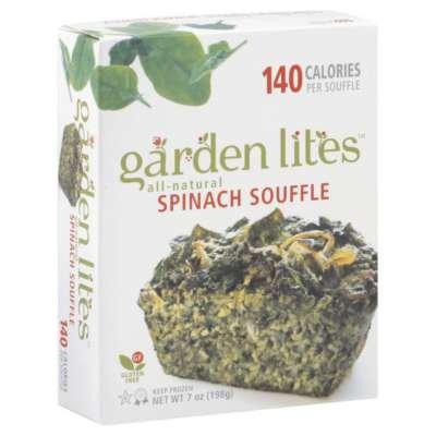 Garden Lites Spinach Souffle, 7 Ounce -- 12 Per Case.