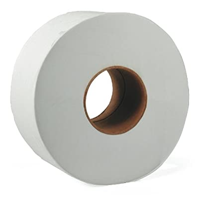 "Great Lakes 202 9"" 2Ply Jumbo Roll Toilet Tissue (Roll of 12)"