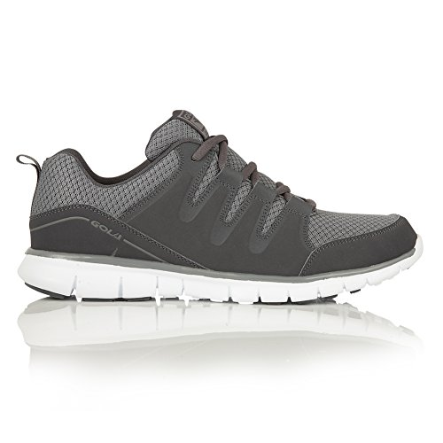 Gola Sport Mens Active Termas 2 XL Lace Up Trainers/Sneakers (15 US) (Charcoal/Gray)