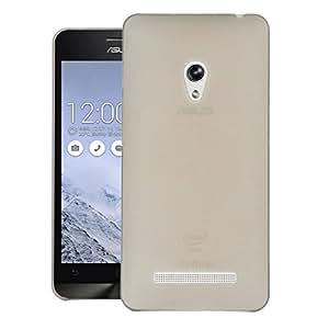 CUBIX® Asus Zenfone 5 Case, Hard (Semi Transparent) Super Slim Matte Back Cover For Asus Zenfone 5 A501CG (Grey)