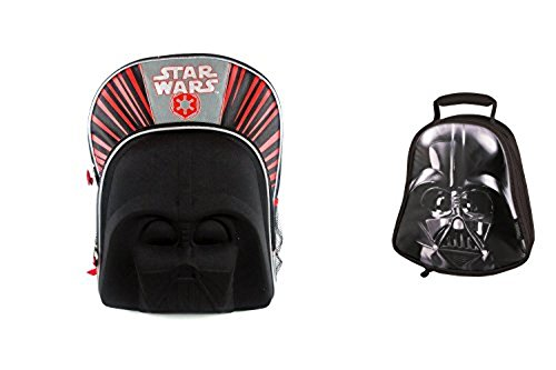 "Star Wars Molded Chest 16"" Backpack With Lunch Box"