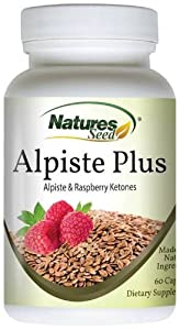 Alpiste Plus - Raspberry Ketones & Alpiste, Natural Weight Loss and Appetite Suppression, Fat Burning Supplement, 60 Capsules