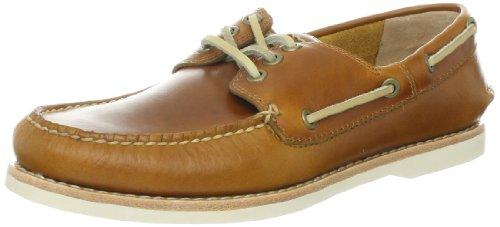 FRYE Men's Sully Boat Shoe Camel 11 M US