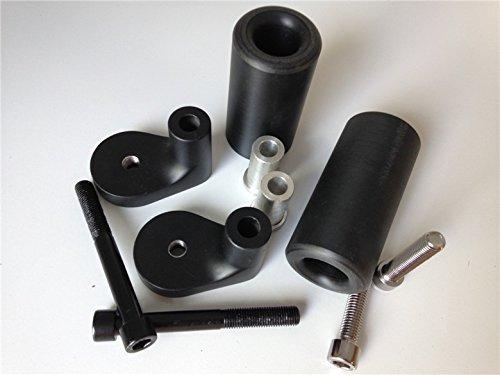 No Cut Frame Slider For 1999-2000 Kawasaki Zrx 1100 2001-2005 Zrx 1200R Black (License Plate Frame Slider compare prices)