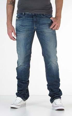 Diesel - Jeans Iakop Regular Slim tapered bleu homme 0814A