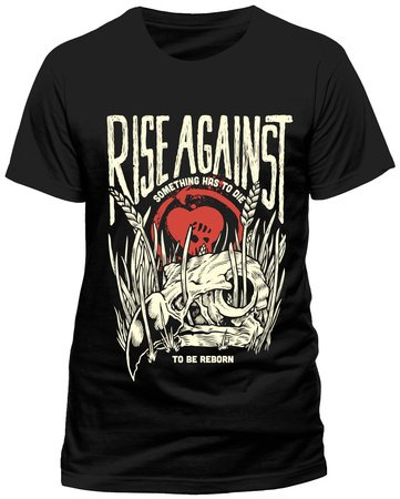 Rise Against Vulture T-Shirt nero XL