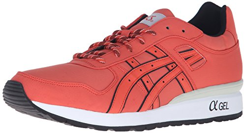 ASICS GT II Retro Running Shoe, Chili/Chili, 9.5 M US