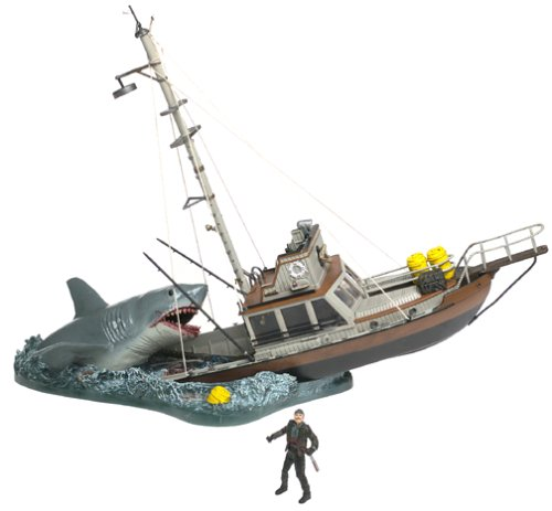 Picture of McFarlane Movie Maniacs Jaws Box Set Figure (B00005NCCP) (McFarlane Action Figures)