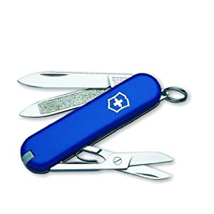 Swiss Army Classic Knife With Toothpick Blue