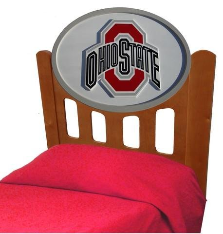 Cheap Ohio State University Buckeyes Kids Wooden Twin Headboard With Logo (C0526S-Ohio State)