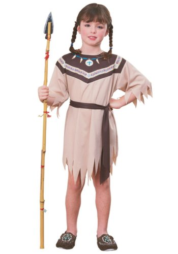 Native American Indian Princess Kids Costume