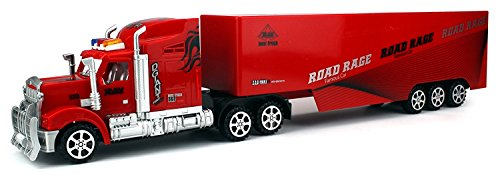 R-500 Semi Trailer Remote Control RC Transporter Truck Ready To Run (Colors May Vary) (Semi Trucks Rc compare prices)