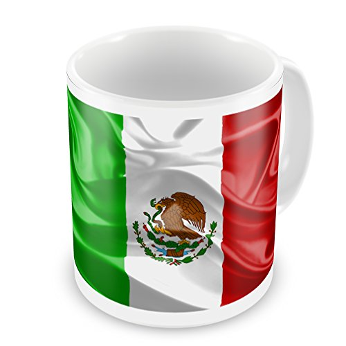 Coffee Mug Mexican 3D Flag - Neonblond