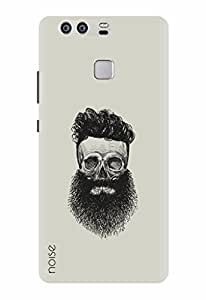 Noise Designer Printed Case / Cover for Huawei P9 / Patterns & Ethnic / Beard Illustrations