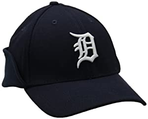 MLB Detroit Tigers Authentic Collection Downflap 39Thirty Flex Fit Cap by New Era