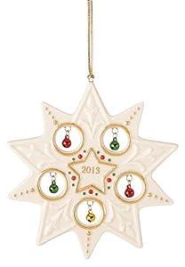 Lenox 2013 Jolly Jingle Star Ornament