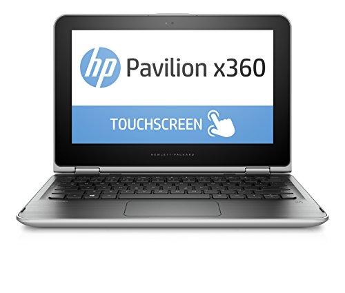 HP Pavilion 11-k100nf Ordinateur portable Hybride Tactile 11″ Argent cendré (Intel Celeron, 4 Go de RAM, 500 Go, Intel HD)
