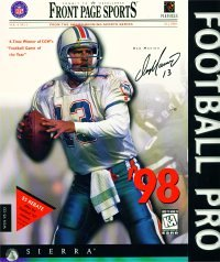 Front Page Sports Football Pro '98