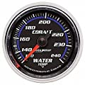 """Auto Meter 6132 Cobalt 2-1/16"""" 120-240 F Mechanical Water Temperature Gauge"""