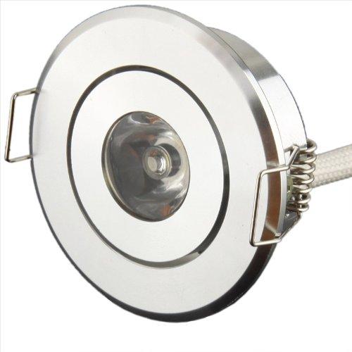 Generic 1W Warm White Aluminum LED Ceiling Lights