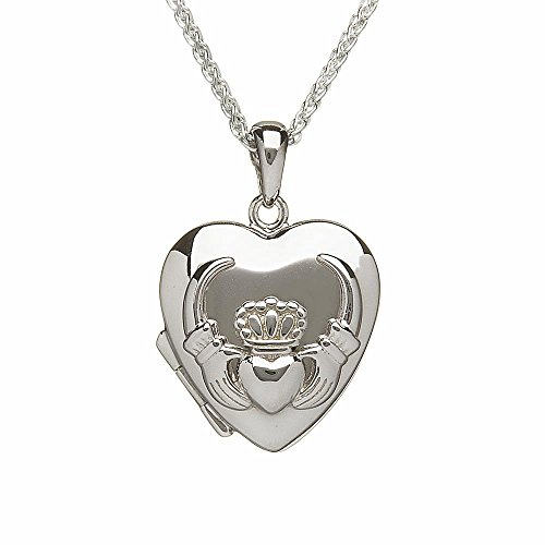 Sterling Silver Irish Claddagh Heart Locket by Boru Review