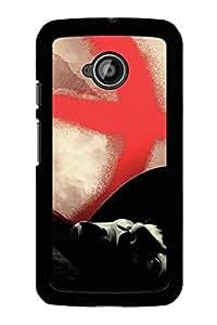 Caseque Feud Vendetta Back Shell Case Cover For Motorola Moto E (2nd Gen.)