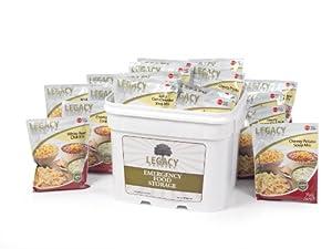 Gluten Free 25 Year Shelf Life Food Storage Supply - 120 Large Servings - 27 Lbs -... by Legacy Premium Food Storage
