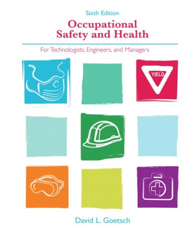 Occupational Safety and Health for Technologists,...