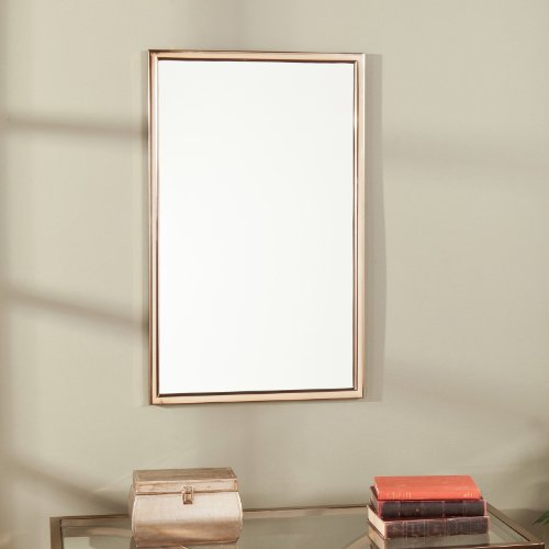 Vogue Mirror - Champagne Brass - 22W x 36H in.