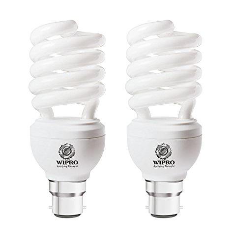 Twister Duos 28 Watt CFL Bulb (Cool Day Light,Pack of 2)