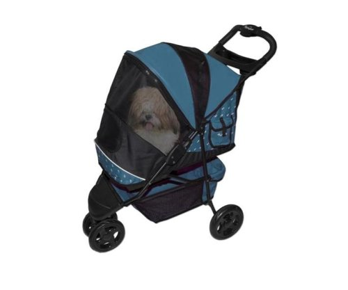 Pet Gear Special Edition Pet Stroller for cats and dogs up to 45-pounds, Blueberry