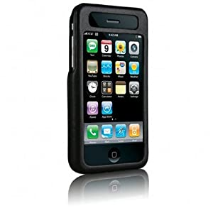 Case-Mate Signature  Napa Leather Case for iPhone 3G, 3G S (Black)