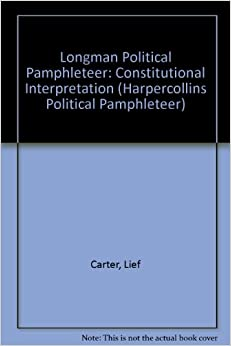 a summary of contemporary constitutional lawmaking by lief carter The constitution of the united states is a document summary on reading the constitution essay summary of contemporary constitutional lawmaking by lief carter.
