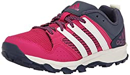 adidas Performance Kanadia 7 TR K Trail Shoe (Little Kid/Big Kid), Pink/White/Navy Blue, 2.5 M US Little Kid