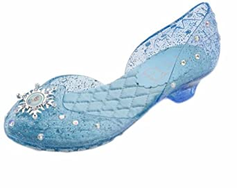 Disney Store Deluxe Frozen Elsa Light Up Shoes Size 9 - 10