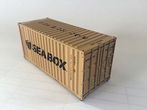 Sea Box Inc. HO Scale, 20' ISO Shipping Container (Model Shipping Container compare prices)