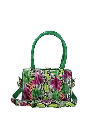 Cashhimi-Tampa-Genuine-Python-Bowling-Shoulder-Bag