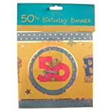 Happy 50th Birthday Me to You Bear Banner
