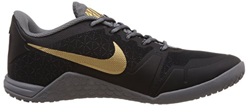 buy popular 18ca2 9f25c ... Nike Men s Lunar Ultimate Tr Black, Metallic Gold, Cool Grey Outdoor  Multisport Training Shoes ...