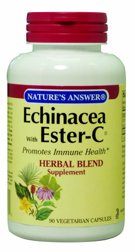 Nature'S Answer Echinacea With Ester C, 90-Count