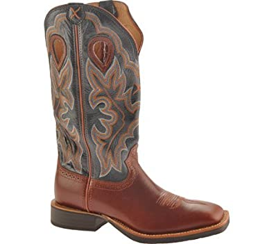 Twisted X Boots Men's MRS0030 Cowboy Boots,Peanut/Slate,11.5 2E US