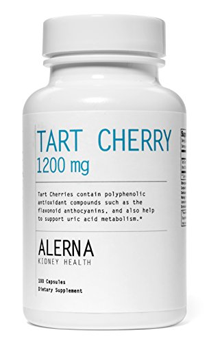 Tart Cherry 1200 mg (100 Vegetarian Capsules, Tart Cherry Extract) (Extracts Cherry compare prices)