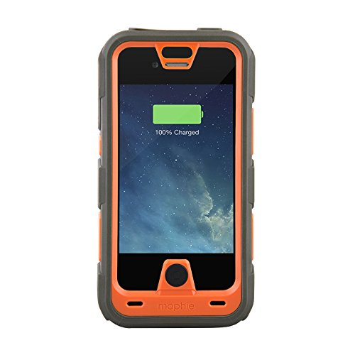 Mophie Juice Pack PRO Battery Case for iPhone 4/4S - Orange (Certified Refurbished) (Iphone 4s Mophie Juice Pack Pro compare prices)