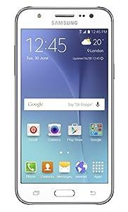 Samsung Galaxy J5 Sim-Free Smartphone - White, 8GB (SM-J500F)