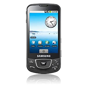 Samsung Galaxy I7500 Handy (Touchscreen, GPS, WLAN, HSDPA) onyx-black