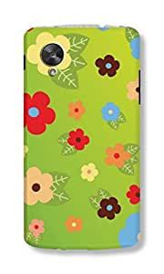 Back Cover for Nexus 5 FLOWERS 2